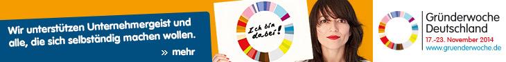 PeRoBa ist Partner der Gründerwoche Deutschland