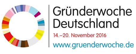 PeRoBa ist Partner der Gründerwochen Deutschland2016