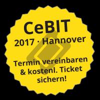 CeBIT 2017 – Termin mit PeRoBa vereinbaren & kostenloses Ticket sichern!