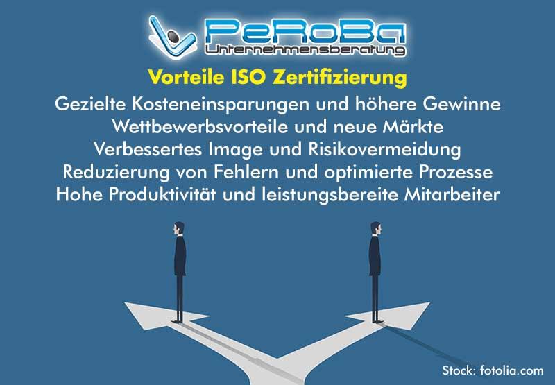 Vorteile ISO Zertifizierung