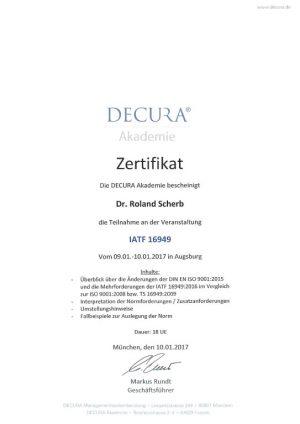 Zertifikat-IATF-16949